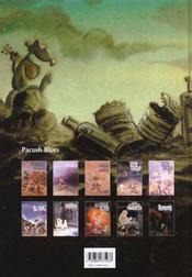 Pacush blues t.10 ; décimation : relecture du mythe de Frankenstein remords - 4ème de couverture - Format classique