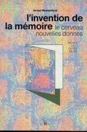 Invention De La Memoire - Couverture - Format classique