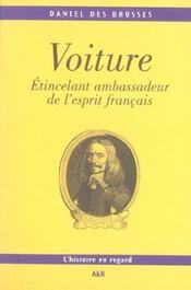 Voiture ; etincelant ambassadeur de l'esprit francais - Intérieur - Format classique