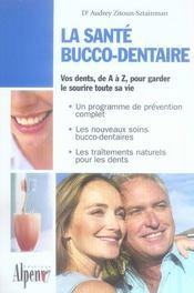La santé bucco-dentaire - Intérieur - Format classique