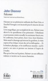 Falconer - Couverture - Format classique