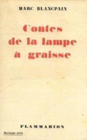 Contes de la lampe à graisse - Couverture - Format classique
