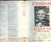 Romans Et Nouvelles Tome I. Collection : Bibliotheque De La Pleiade N° 4 - Couverture - Format classique