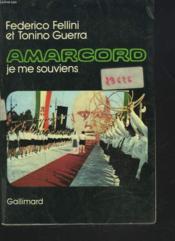 Amarcord Je Me Souviens - Couverture - Format classique
