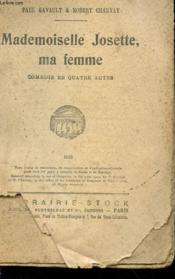 Mademoiselle Josette, Ma Femme - Couverture - Format classique