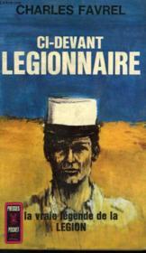 Ci-Devant Legionnaire - Couverture - Format classique