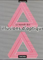 Le monde des illusions d'optique - Couverture - Format classique