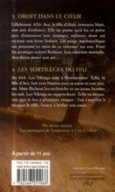 Les protégées de l'empereur t.3 et t.4 ; les enfants d'Alaïs - 4ème de couverture - Format classique