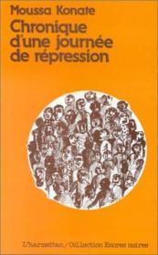 Chronique d'une journée de répression - Couverture - Format classique
