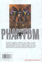 Phantom T.1 - 4ème de couverture - Format classique