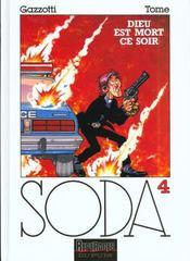 Soda t.4 ; Dieu est mort ce soir - Intérieur - Format classique