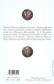 La Bourgogne Alchimique - 4ème de couverture - Format classique