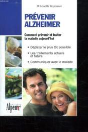 Maladie d'Alzheimer - Couverture - Format classique