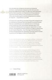 Claude Rutault ; georges Seurat - 4ème de couverture - Format classique