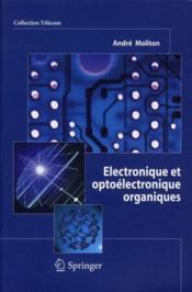 Électronique et optoélectronique organiques - Couverture - Format classique