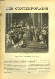 Les Contemporains N°551. L'Imperatrice Josephine (1763-1814). - Couverture - Format classique