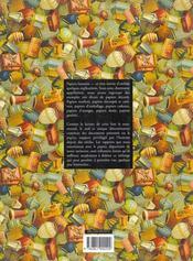 Papiers fantaisies - 4ème de couverture - Format classique