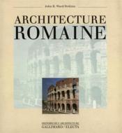 Architecture romaine - Couverture - Format classique