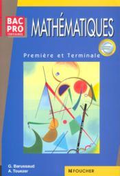 Maths Bac Pro Tertiaires - Couverture - Format classique
