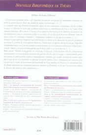 La separation horizontale des pouvoirs en france et allem. a l'epreuve du droit commun.. vol 44 - 4ème de couverture - Format classique