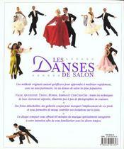 Danses De Salon + Cd - 4ème de couverture - Format classique