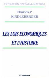 Les lois economiques et l'histoire - Couverture - Format classique