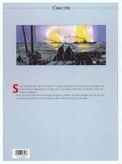 Dimitri t.7 ; le convoi - 4ème de couverture - Format classique