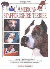 L'américan Staffordshire Terrier - Couverture - Format classique