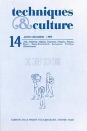 Revue Techniques Et Cultures N.14 ; Inde - Couverture - Format classique