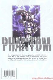 Phantom T.2 - 4ème de couverture - Format classique