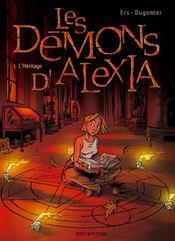 Les demons d'alexia t.1 ; l'heritage - Intérieur - Format classique