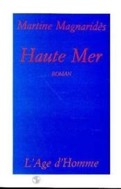 Haute Mer - Couverture - Format classique