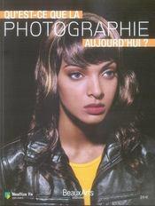 Qu'est-ce que la photographie aujourd'hui - Intérieur - Format classique