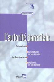 L'autorite parentale - Intérieur - Format classique