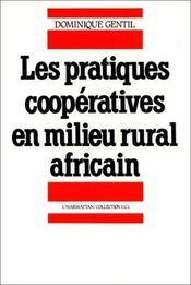 Les pratiques coopératives en milieu rural africain - Intérieur - Format classique