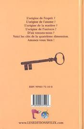 L'Origine Du Monde - 4ème de couverture - Format classique