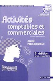 Parcours Interactifs ; Activites Comptables Et Commerciales ; Corriges - Couverture - Format classique