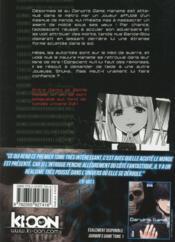 Darwin'S Game T.2 - 4ème de couverture - Format classique