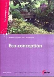 Ecoconception les ouvrages du cetim bureaux d'etudes et aide a la conception6a29 cdrom - Couverture - Format classique