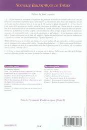 Recherches sur la cohérence de la responsabilité délictuelle ; influence des fondements de la responsabilité sur la réparation - 4ème de couverture - Format classique