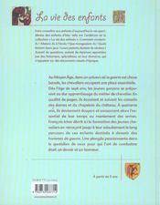 Au Temps Des Chevaliers - 4ème de couverture - Format classique