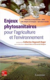 Enjeux phytosanitaires pour l'agriculture et l'environnement - Couverture - Format classique