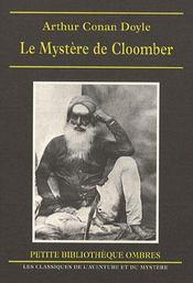 Le mystère de Cloomber - Intérieur - Format classique