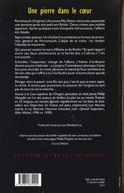 Une Pierre Dans Le Coeur - 4ème de couverture - Format classique