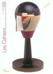 Cahiers Du Musee National D'Art Moderne N.88 ; Eté 2004 ; Dada - Intérieur - Format classique