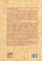 Le bestiaire de la bible - 4ème de couverture - Format classique