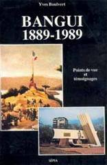 Bangui 1889-1989 - Couverture - Format classique
