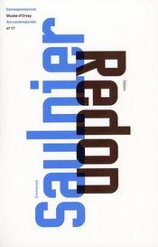 Emmanuel Saulnier / Odilon Redon - Intérieur - Format classique