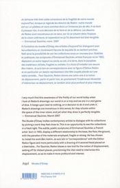 Emmanuel Saulnier / Odilon Redon - 4ème de couverture - Format classique