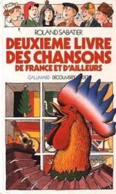 Chansons de France et d'ailleurs - Couverture - Format classique